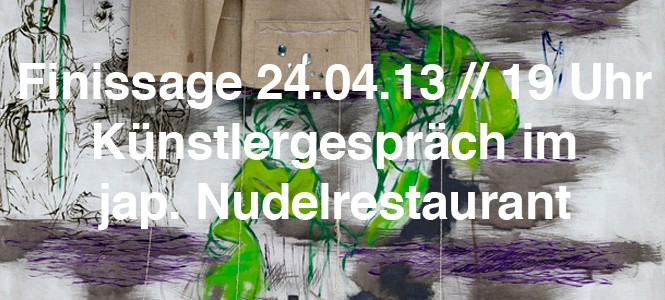 Finissage: Künstlergespräch und Nudelessen im Kunsthaus Jesteburg