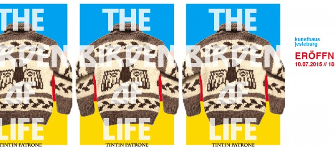 "TINTIN PATRONE ""THE BIRDEN OF LIFE"""